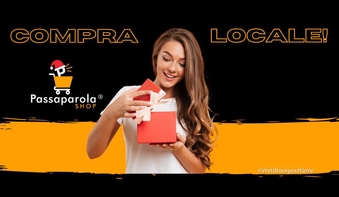 Con PassaparolaSHOP ordini online e ritiri in negozio.